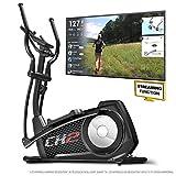 Sportstech Vélo elliptique CX2 Ergomètre avec Commande par Application Smartphone, Poids d'inertie 27 KG, Bluetooth, 24 Niveaux de résistance, Cardio Fitness 12 programmes + Kinomap App