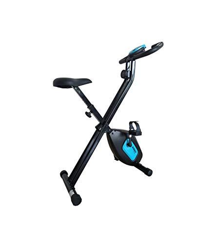 CARE FITNESS - Vélo d'Appartement SV-316-7 Fonctions - Masse d'Inertie 4 kg - Freinage Magnétique - Vélo de Biking Design et Performant