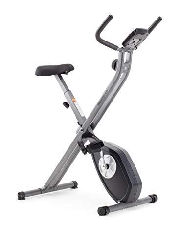 CADENCE SMARTFIT 100 - Vélo pliable, unisexe, noir et argenté