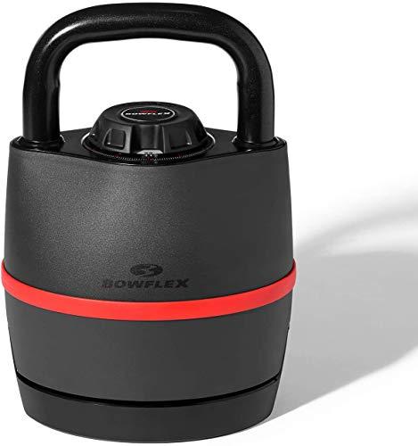 Bowflex SelectTech 3.5-18 kg Kettlebell Unisex-Adult, Noir/Rouge, Taille Unique