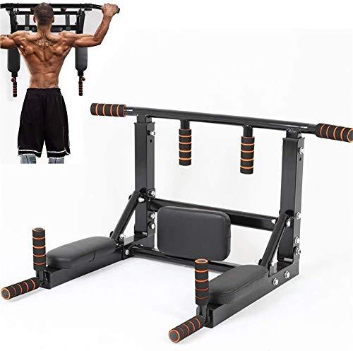 Sin Barre de Tractions Mural, Équipement de Fitness, Multi-Grip Pull Up Bar, Barre de Fitness Fixée au Mur, Barres de Traction entraînement Multifonctionnel