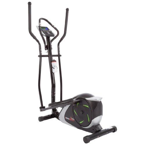 Ultrasport vélo elliptique 800A automatiquement avec capteurs de pouls tactiles et bouteille