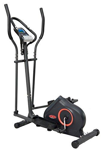 DAVID DOUILLET EZ905M Vélo elliptique magnétique motorisé Fitness et Musculation, Gris, FR Fabricant : Taille Unique