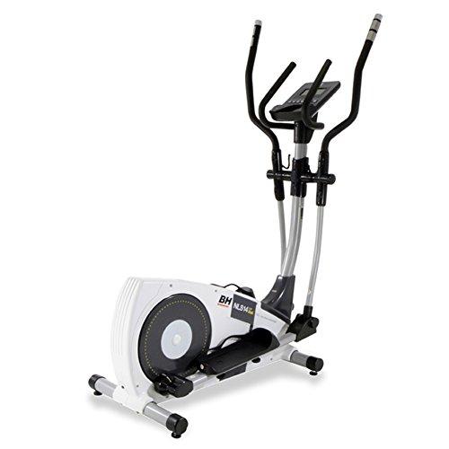 BH Fitness NLS14 TOP DUAL G2356 - Vélo elliptique - Frein magnétique Volant d'inertie de 12 Kg - Foulée de 33 cm