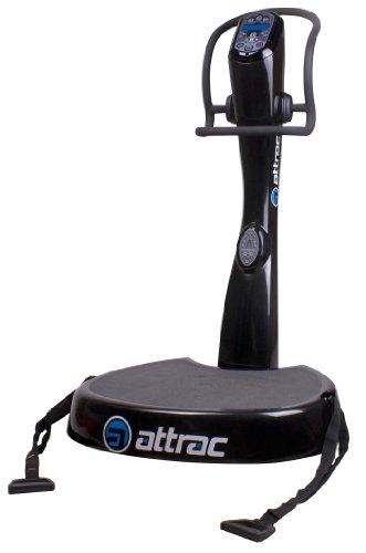Plateforme vibrante oscillante Attrac Black Power 5 + Kit d'entraînement offert / Functional Fitness