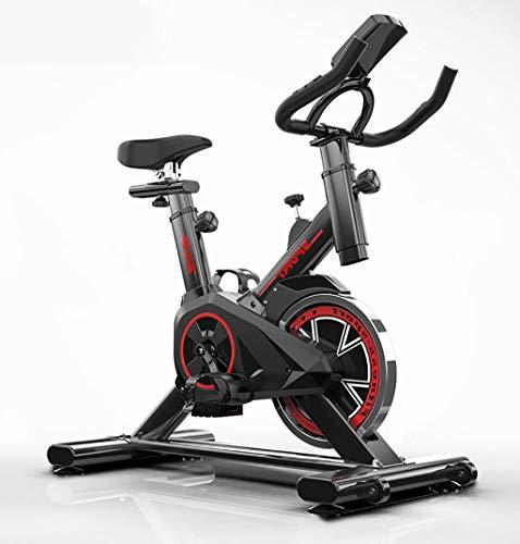 Vélo d'intérieur ultra silencieux avec système d'entraînement par courroie à faible bruit