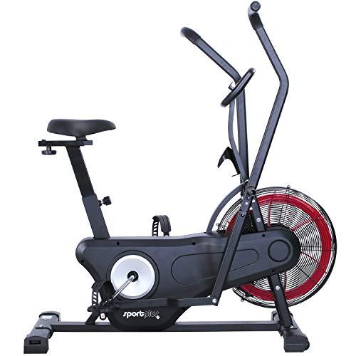 SportPlus Vélo d'appartement 2020 Air Bike Vélo d'appartement Ergomètre pour fitness, spinning & crossfit   Vélo elliptique pour la maison   Vélo d'appartement