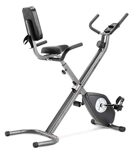 CADENCE SMARTFIT 200 - Vélo pliable, unisexe, noir et argenté