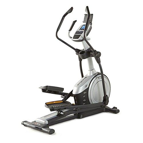 NORDICTRACK C5.5 10009838 Vélo élliptique inclinable - Inertie 8 Kg - 20 niveaux - Foulée 40-50 cm - Mp3 -