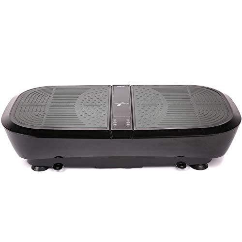Sportstech 3D Vibration Plate VP300   Mega Fat Burner + 5 Bandes de Fitness supplémentaires   Vaste Surface + Double Moteur très Silencieux + Bluetooth + Télécommande   Fitness Training at Home