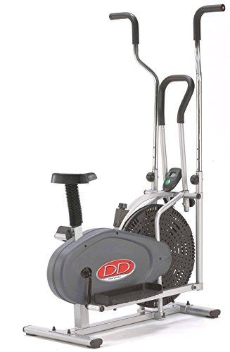 DAVID DOUILLET E02_2+1 Orbit Gym 2 en 1 Vélo d'appartement Gris