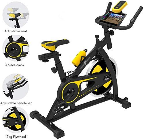 DDHHBNR Vélo d'appartement Vertical Formation en Salle Fitness Cardio Bike Studio Cycles Aerobic-SY1