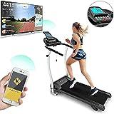 Bluefin Fitness apis de Course Pliable Haute Vitesse Innovant Unisex-Adult, Noir, Kick 2.0