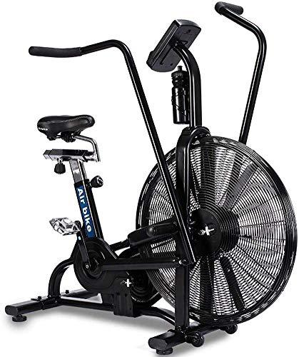 DFKDGL Vélo d'Appartement Vélo de Biking,avec Video Events & Multijoueur APP, Vélo d'appartement avec Transmission par Courroie, vélo d'intérieur Silencieux
