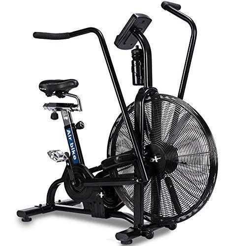 GFDDZ Vélo d'air   Vélo d'appartement avec Une résistance illimitée   Vélo de Cyclisme intérieur   Vélo Stationnaire   Selle réglable, écran à LED, vélo d'exercice pour la Maison et la Salle de Sport