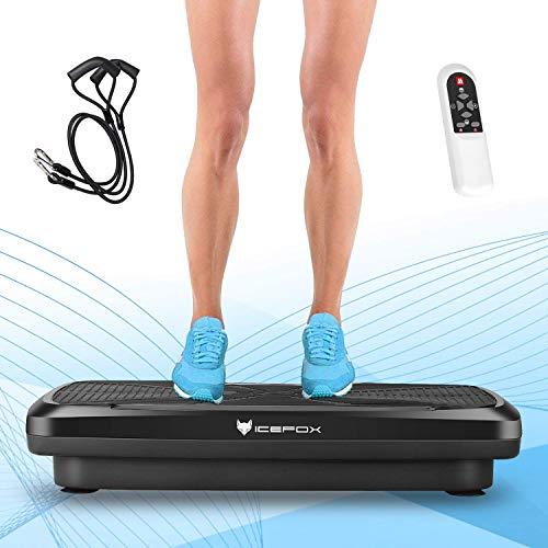 icefox Fitness 3D Double Moteur avec Haut-Parleur Bluetooth 4.0 / écran LCD et télécommande / 9 programmes d'entraînement